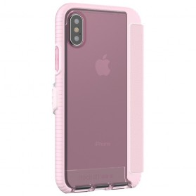 Tech21 Evo Wallet Case for iPhone X - Rose - 4