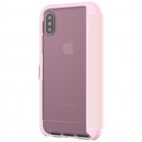 Tech21 Evo Wallet Case for iPhone X - Rose - 6