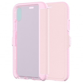 Tech21 Evo Wallet Case for iPhone X - Rose - 8