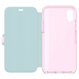Tech21 Evo Wallet Case for iPhone X - Rose - 9