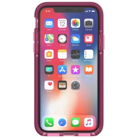Tech21 Evo Wave Case for iPhone X - Pink - 2