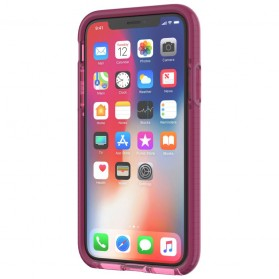 Tech21 Evo Wave Case for iPhone X - Pink - 3