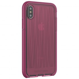 Tech21 Evo Wave Case for iPhone X - Pink - 4