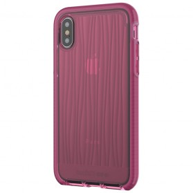 Tech21 Evo Wave Case for iPhone X - Pink - 6