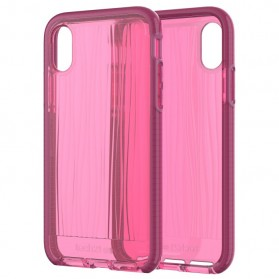 Tech21 Evo Wave Case for iPhone X - Pink - 7