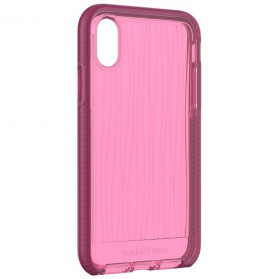 Tech21 Evo Wave Case for iPhone X - Pink - 10