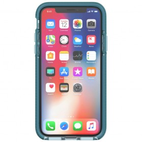 Tech21 Evo Wave Case for iPhone X - Blue - 2