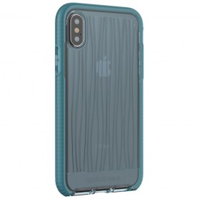 Tech21 Evo Wave Case for iPhone X - Blue - 4