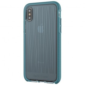 Tech21 Evo Wave Case for iPhone X - Blue - 6