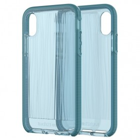 Tech21 Evo Wave Case for iPhone X - Blue - 7