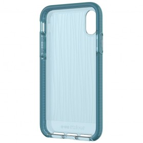 Tech21 Evo Wave Case for iPhone X - Blue - 9