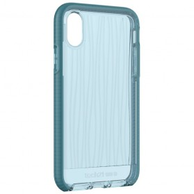 Tech21 Evo Wave Case for iPhone X - Blue - 10