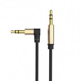 Vention Kabel Audio AUX 3.5mm L Jack 1.5 Meter - Black