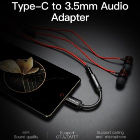 Vention Kabel Adapter USB Type C to 3.5mm AUX Audio - CFI - Black - 2