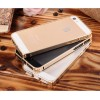 Ultra Thin Aluminium Metal Bumper Case Single Color for iPhone 4/4s