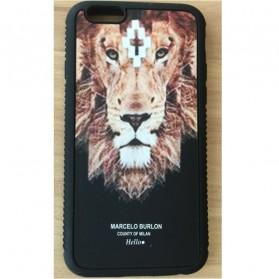 Marcelo Burlon 7 TPU Case for iPhone 5/5s/SE