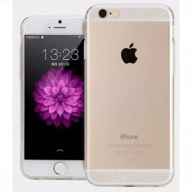 Ultra Thin TPU Transparent Acrylic Hard Case for iPhone 6 Plus - Transparent