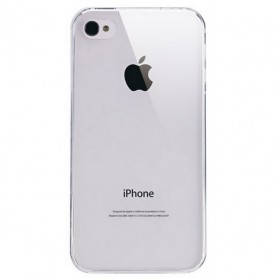 Silicone Case for iPhone 4 & 4S - Transparent - 3