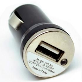 USB Car Charger 5V 1A for Smartphone - Black - 3