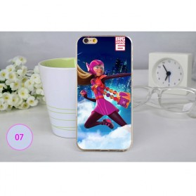 Big Hero Silicon + TPU Case for iPhone 6 - TPU07
