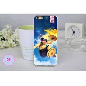 Big Hero Silicon + TPU Case for iPhone 6 Plus - TPU26