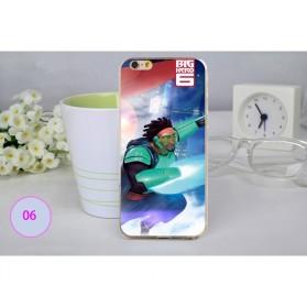 Big Hero Silicon + TPU Case for iPhone 6 Plus - TPU27