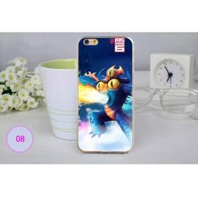 Big Hero Silicon + TPU Case for iPhone 6 Plus - TPU29