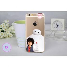 Big Hero Silicon + TPU Case for iPhone 6 Plus - TPU34
