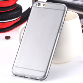 0.3mm Ultra Thin Silicone Materials Case Protection Shell for iPhone 6/6s - Transparent