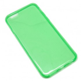 0.3mm Ultra Thin Silicone Materials Case Protection Shell for iPhone 6/6s - Light Green