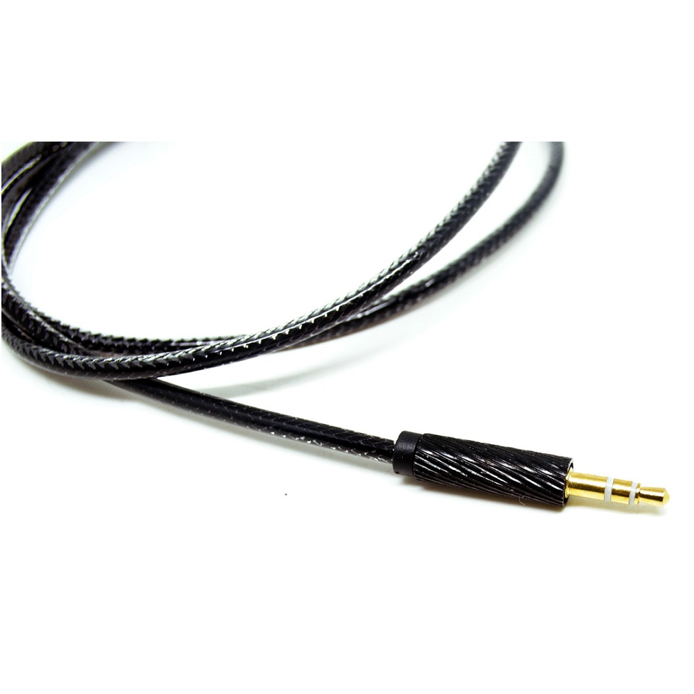 kabel aux 3 5mm hifi 1 meter - black