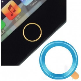 Touch Pad Home Button Ring Multi Color for iPhone - Multi-Color