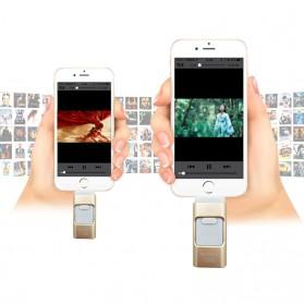 Flashdisk i-Flash Drive 3 in 1 OTG Micro USB + Lightning Dual Storage 16GB - DD3 - Black - 6