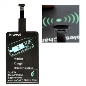 Qi Wireless Charging Reverse Micro USB Receiver for Smartphone - WXTE - 1