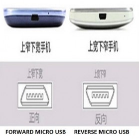 Qi Wireless Charging Reverse Micro USB Receiver for Smartphone - WXTE - 2