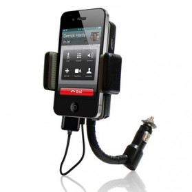 3 in 1 Universal All Channel FM Transmitter Car Charger Hands Free Kit for iPhone 3G/3Gs