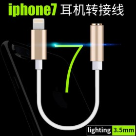 Adapter Lightning ke 3.5mm Headphone for iPhone 7/8/X - Silver - 5