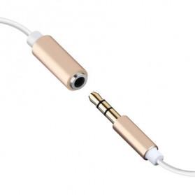 Adapter Lightning ke 3.5mm Headphone for iPhone 7/8/X - Black - 6