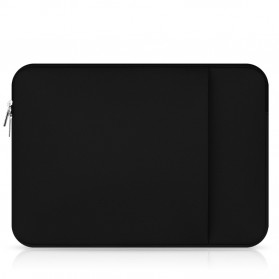 Soft Sleeve Case Macbook Pro 13 Inch - 003 - Black - 2