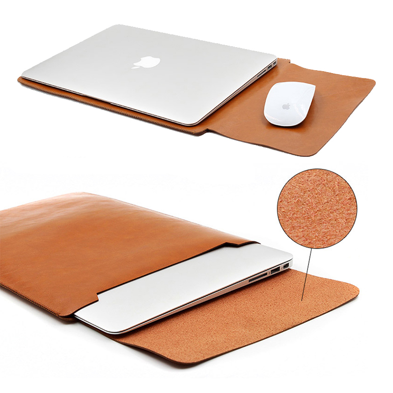 leather sleeve case for macbook pro 2016 touch bar