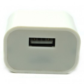 Charger USB iPhone EU Plug 2A (Replika 1:1) - White - 3