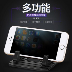 Arealer Stand Handphone Anti Slip - PA4562S - Black - 7