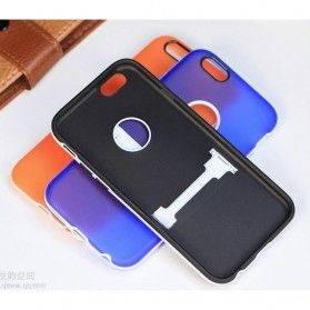 TPU Case with Kickstand for iPhone 7/8 - Black - 4