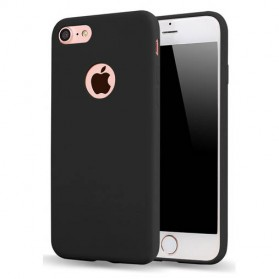 Ultra Thin TPU Case Slim Jet for iPhone 7/8 - Black