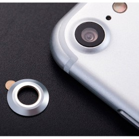 Camera Ring Lens Protector iPhone 7 - Silver - 2