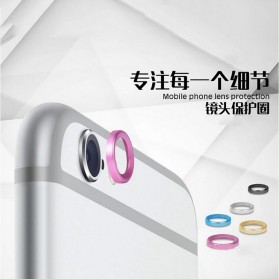 Camera Ring Lens Protector iPhone 7 - Silver - 6