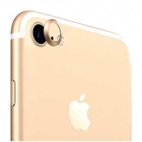 Camera Ring Lens Protector iPhone 7 - Golden