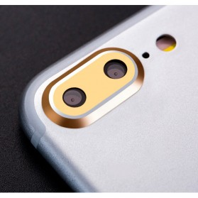 Camera Ring Lens Protector iPhone 7 Plus - Golden