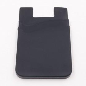 Smartphone Silicone Card Holder Tempat Kartu - 3M - Black - 2