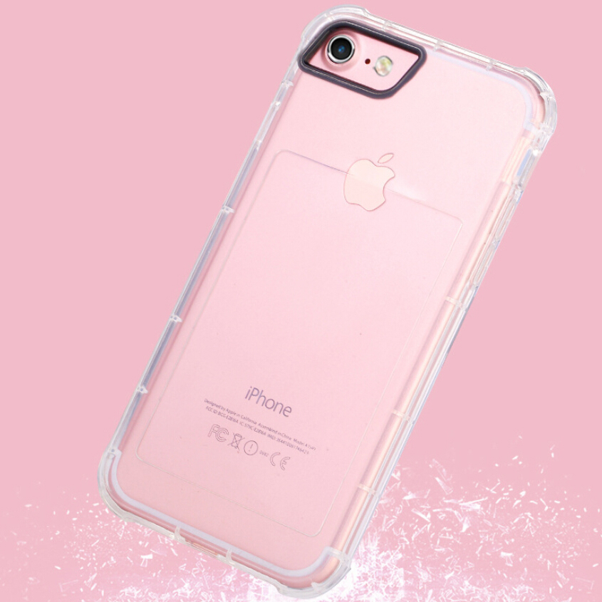 bumper tpu case for iphone 6 6s transparent. Black Bedroom Furniture Sets. Home Design Ideas